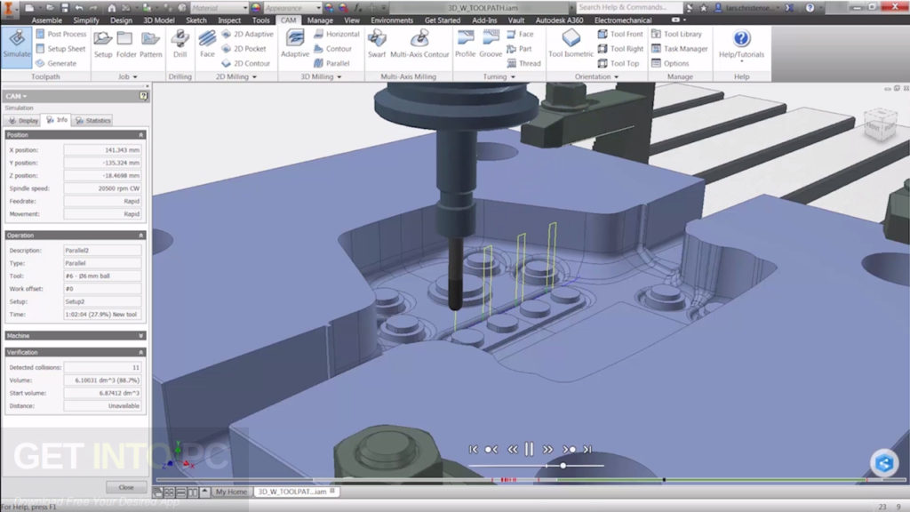 Autodesk Inventor HSM 2018 x64 Latest Version Download