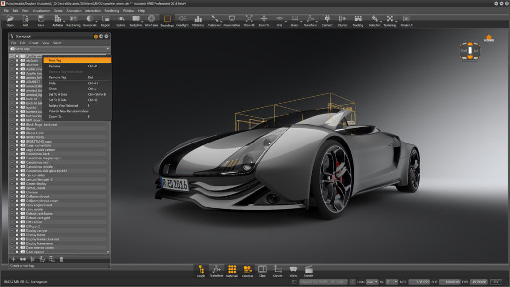 Autodesk VRED Design 2018 Latest Version Download