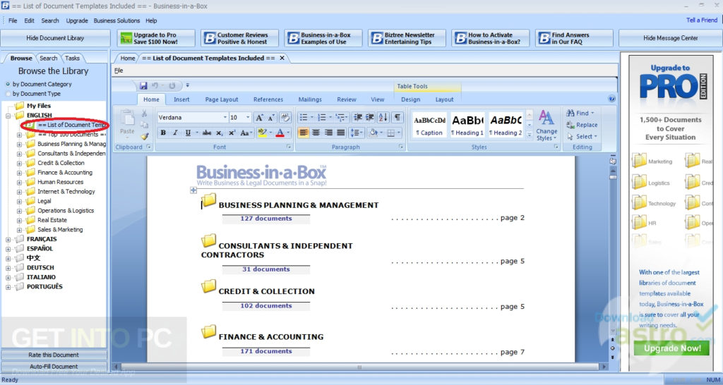Business in a box templates updated free download business in a box templates updated latest version download cheaphphosting Image collections