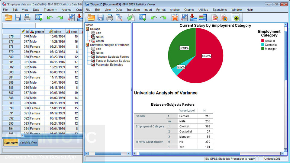IBM SPSS Statistics 25 Latest Version Download