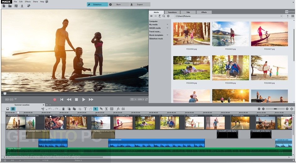 MAGIX Photostory Deluxe 2018 Direct Link Download
