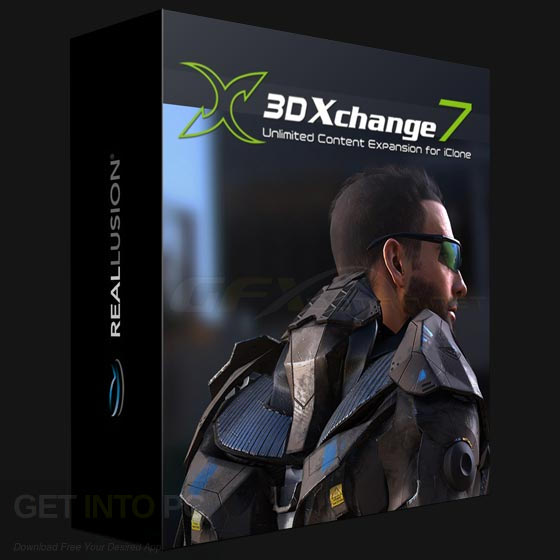 Reallusion iClone 3DXchange 7 Free Download
