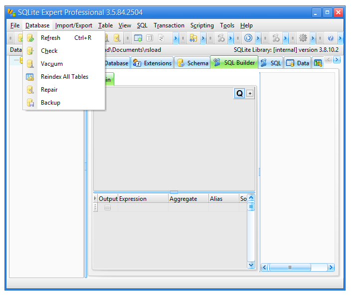 SQLite Expert Professional Edition 5.2.2.266 Latest Version Download