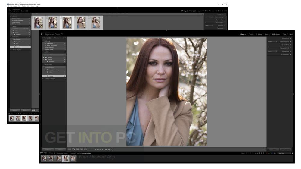 Adobe Photoshop Lightroom Classic CC 2018 Setup Free Download