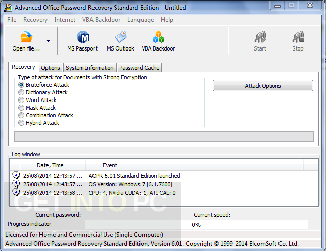 Advanced Office Password Recovery + Portable Offline Installer Download