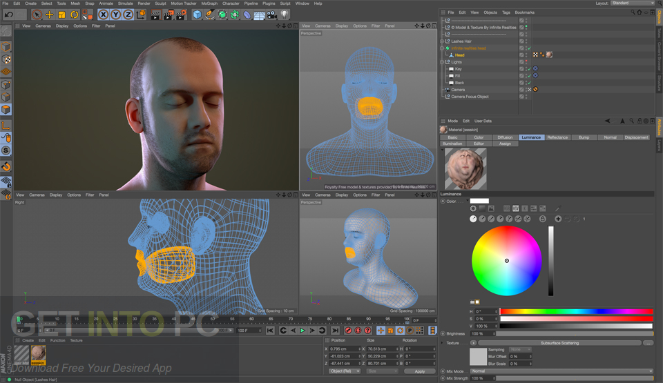 CINEMA 4D Studio R19 Direct Link Download