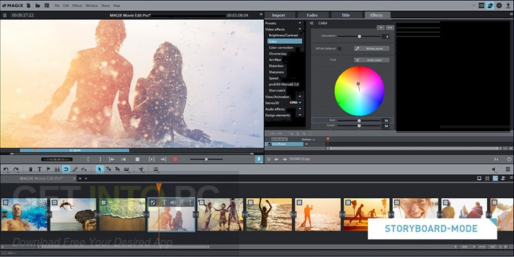 magix movie edit pro free download with crack