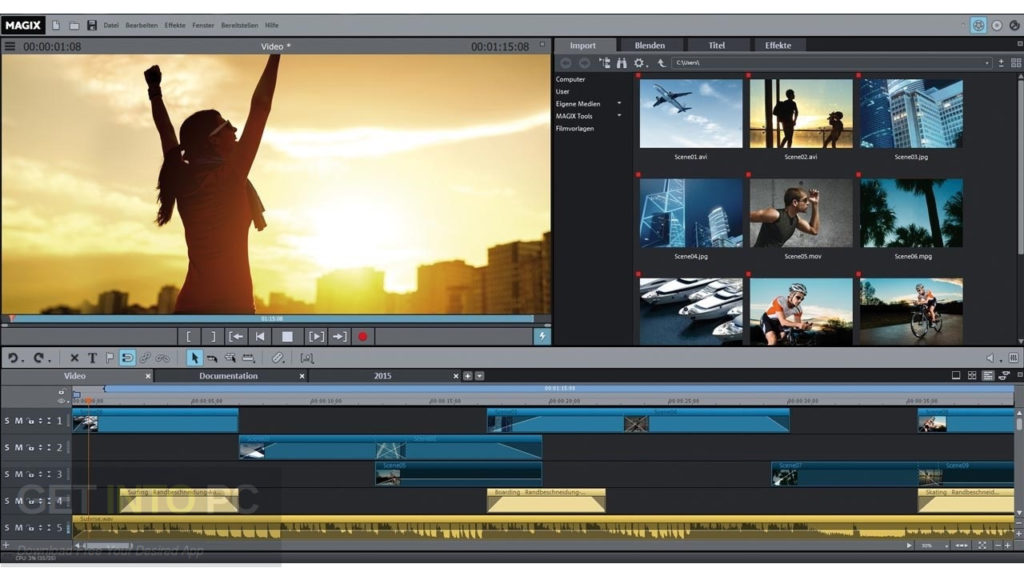 MAGIX Movie Edit Pro Premium 2018 Latest Version Download
