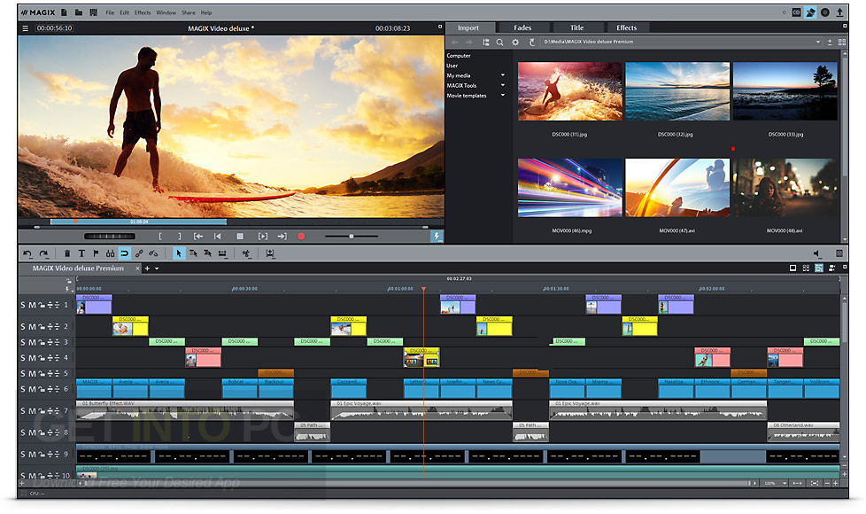 magix movie edit pro 2018 + crack full version