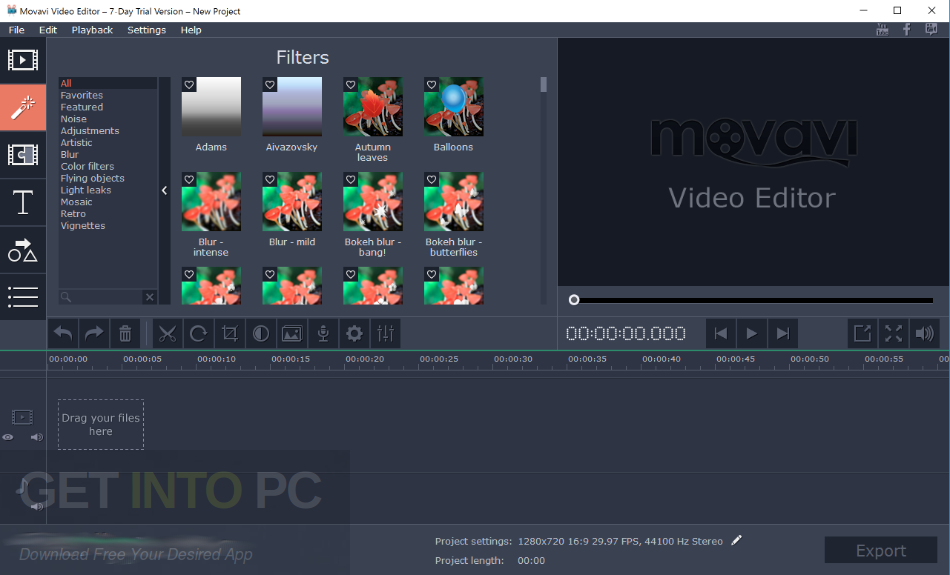 movavi video editor plus free download