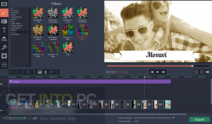 Movavi Video Editor Plus 14.1.1 Offline Installer Download