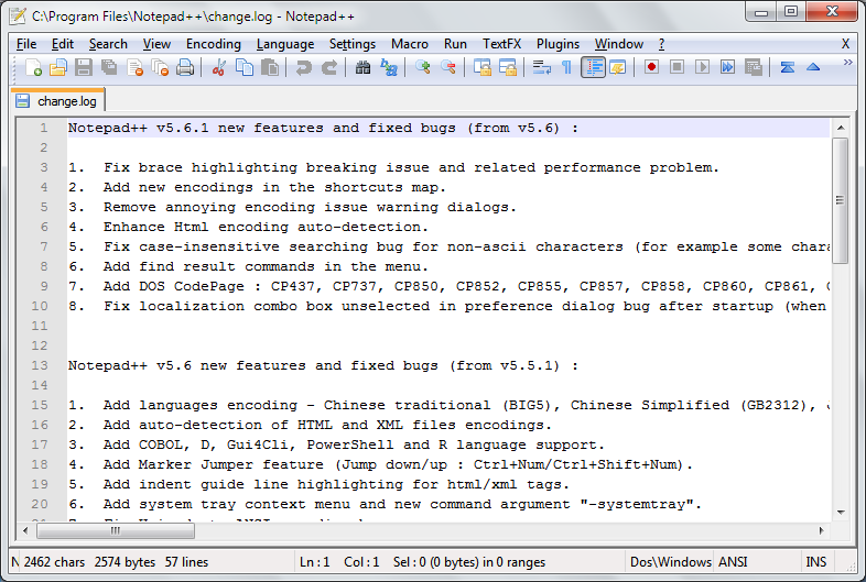 Notepad ++ 7.5.2 Direct Link DOwnload
