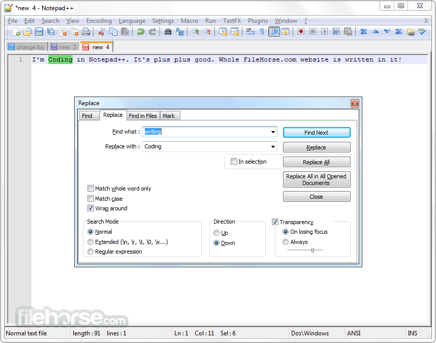 Notepad ++ 7.5.2 Latest Version Download