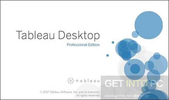 Tableau Desktop Professional 10.4.2 Free Download