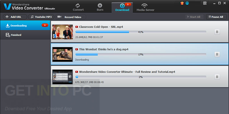 Wondershare Video Converter Ultimate 10.2.0.154 Offline Installer Download