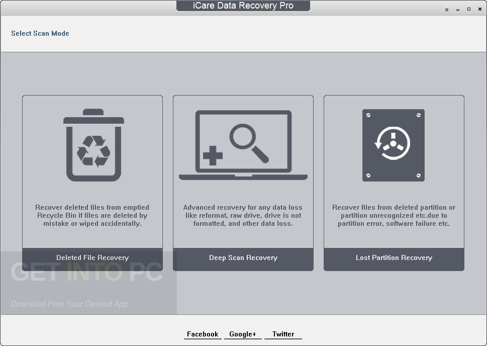 iCare Data Recovery Pro 8.0.5.0 Offline Installer Download