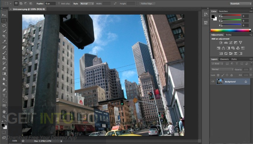 Adobe Photoshop CC 2018 v19.1 Free Download