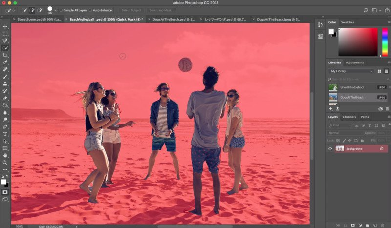 how to add image in photoshop cc 2018