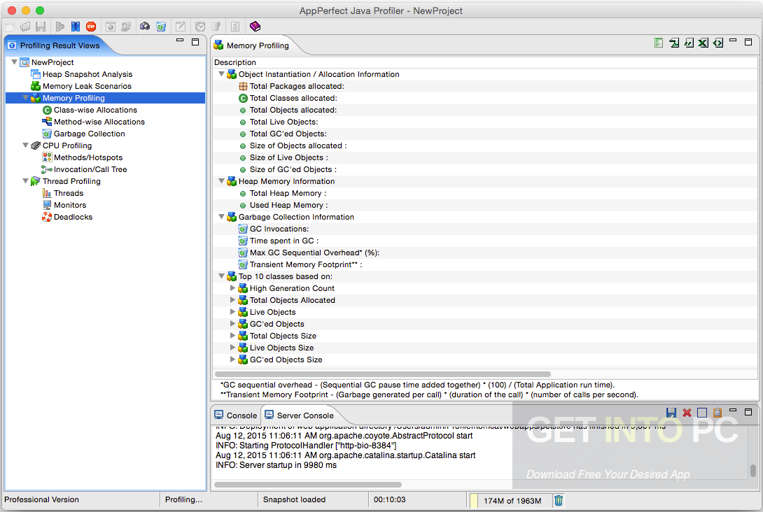 AppPerfect Java Profiler 14 Direct Link Download