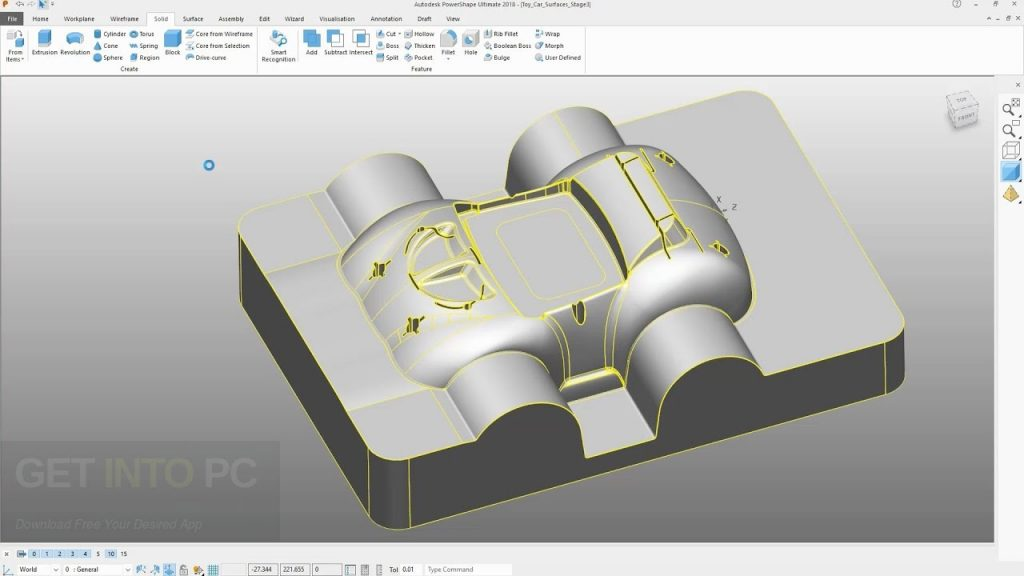 Autodesk PowerShape Ultimate 2018 Latest Version Download