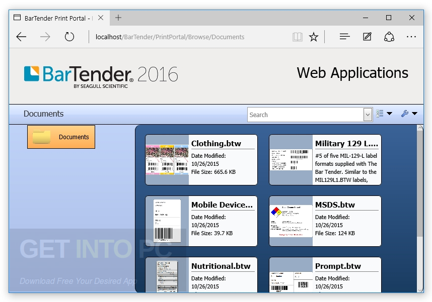 BarTender Enterprise Automation 2016 Offline Installer Download