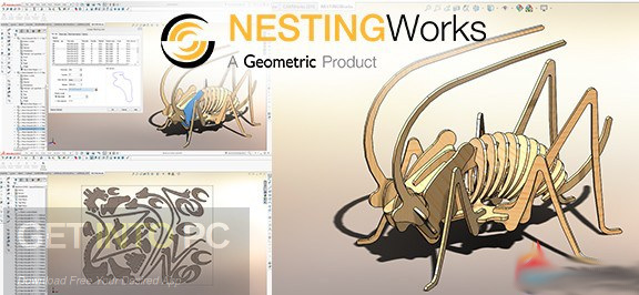 Geometric NestingWorks 2018 Free Download