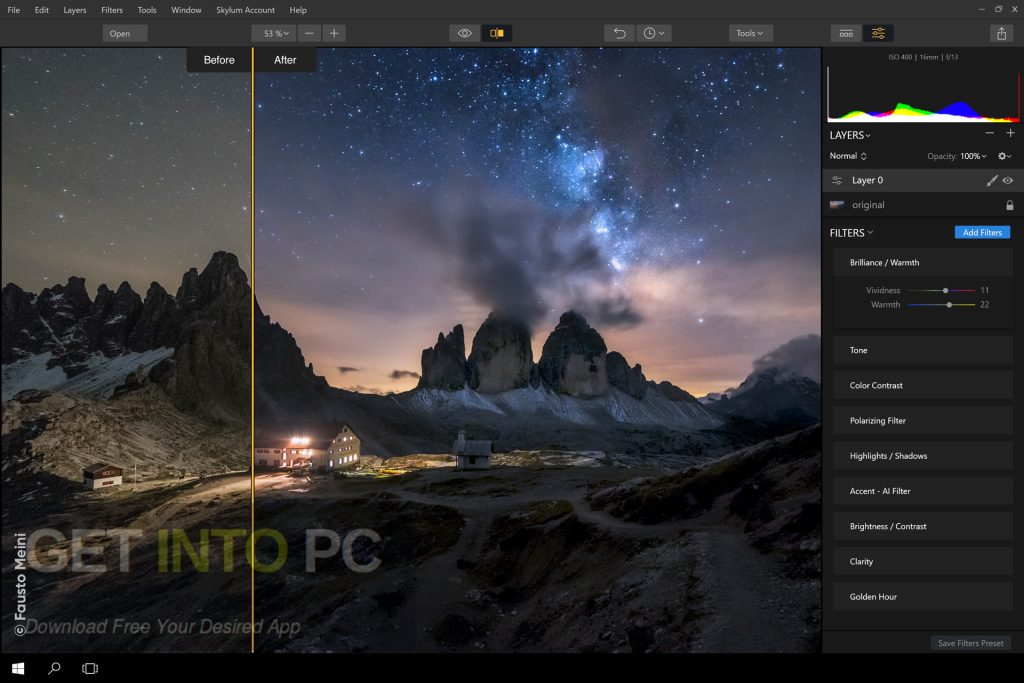 Luminar 2018 v1.1.1.1431 Offline Installer Download