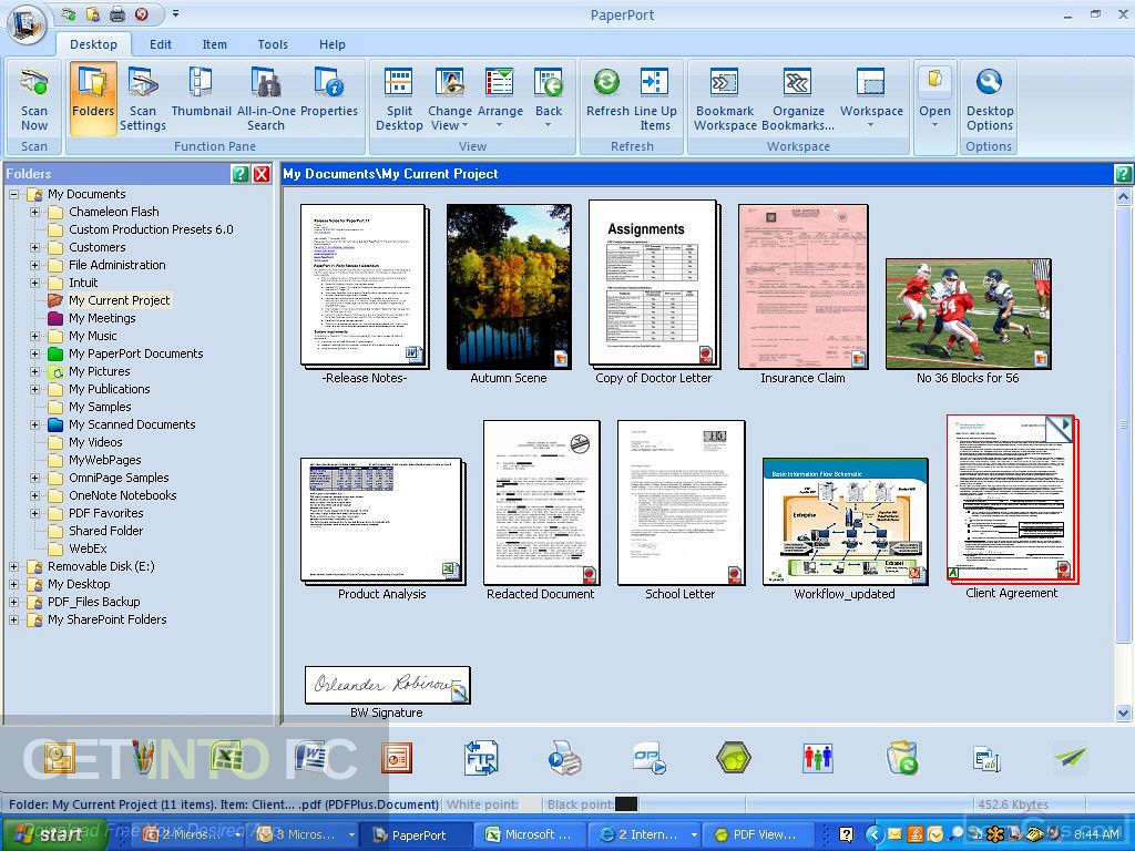 Nuance PaperPort Professional 14.5 Latest Version Download