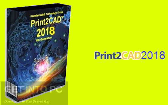 Print2CAD 2018 Free Download
