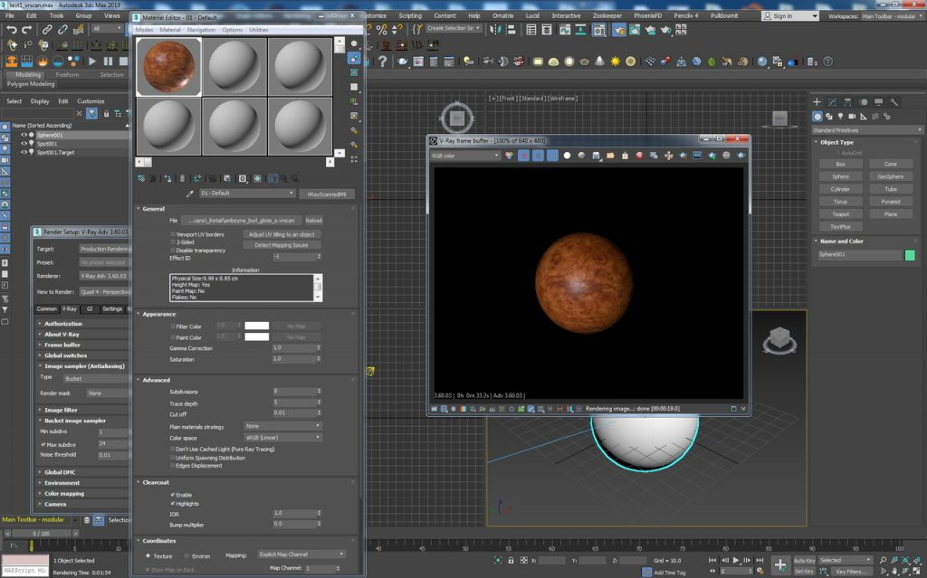 V-Ray 3 60 03 for 3ds Max 2018 Free Download