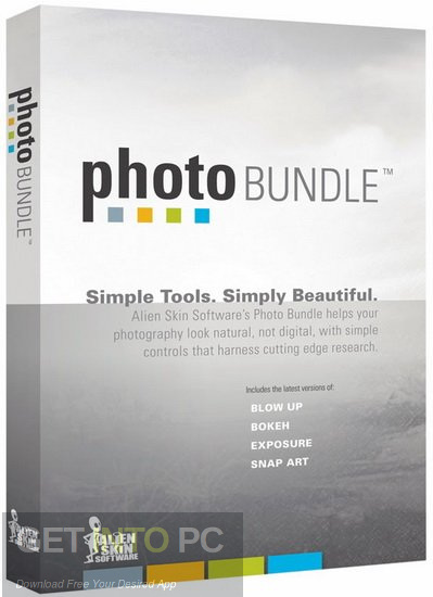 Alien Skin Software Photo Bundle Collection 2018 Free Download