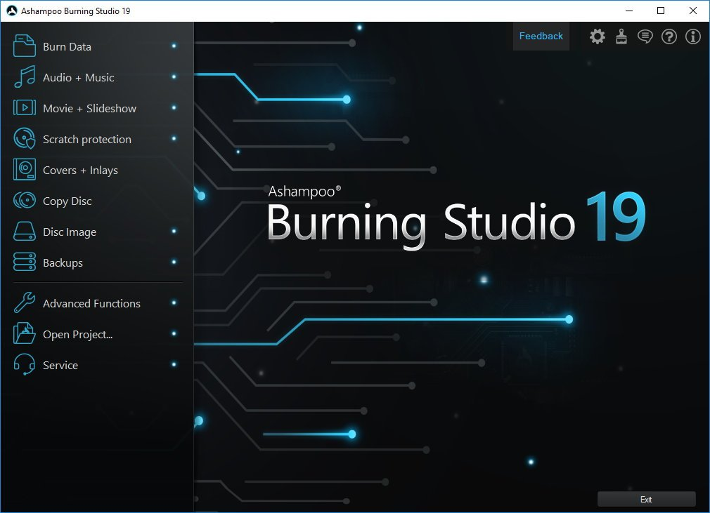 Ashampoo Burning Studio 19.0.0.25 Free Download