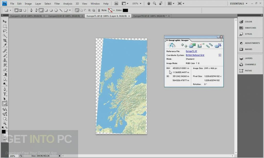 Avenza Geographic Imager for Photoshop Direct Link Download