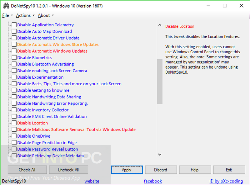 DoNotSpy10 3.0 Latest Version Download