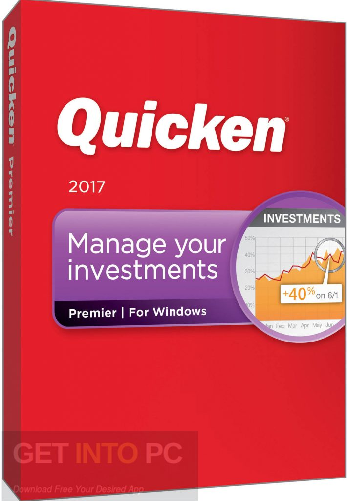 Intuit Quicken 2017 Deluxe Home Business Free Download