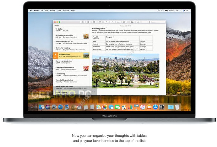 MacOS High Sierra v10.13.3 Direct Link Download