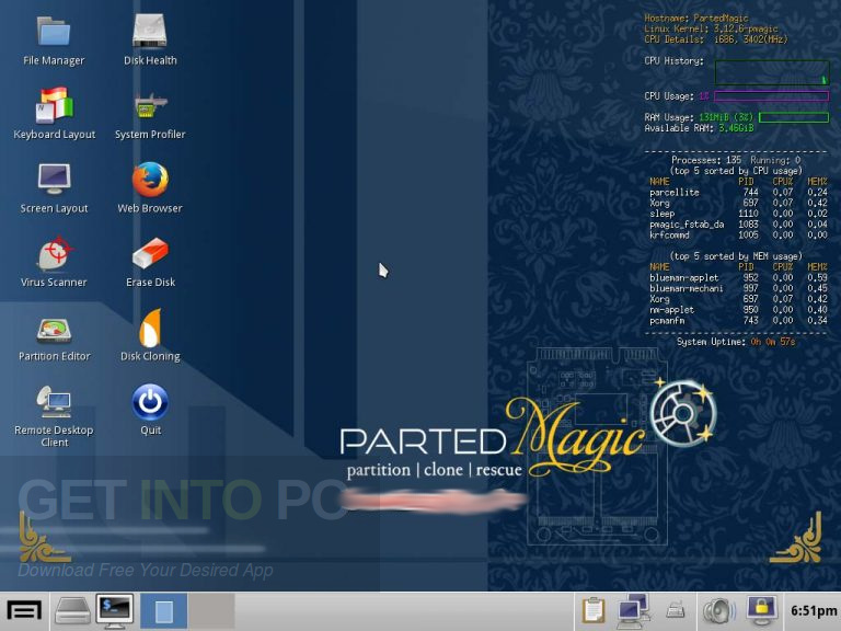 Parted Magic 2020 Offline Installer Download