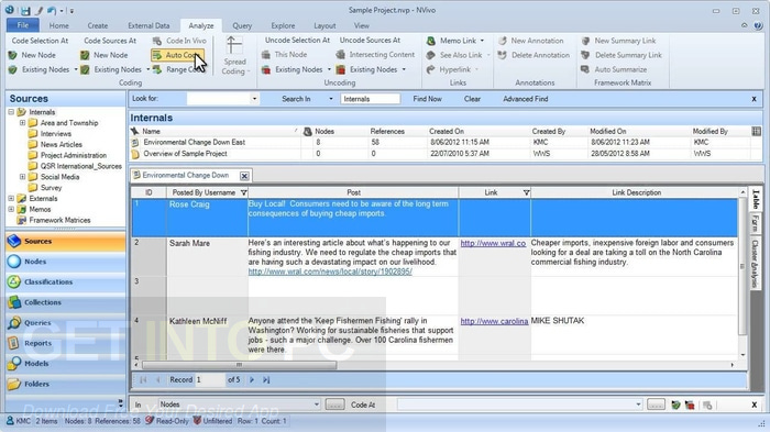 QSR NVIVO 10.0.641.0 SP6 Free Download