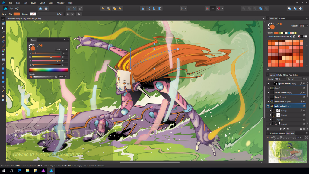Serif Affinity Designer 1.6.2.97 Direct Link Download