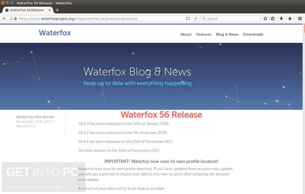 Waterfox 56 + Portable Download For Free