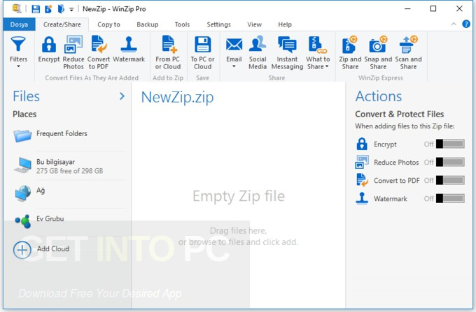 WinZip Pro 22 Direct Link Download