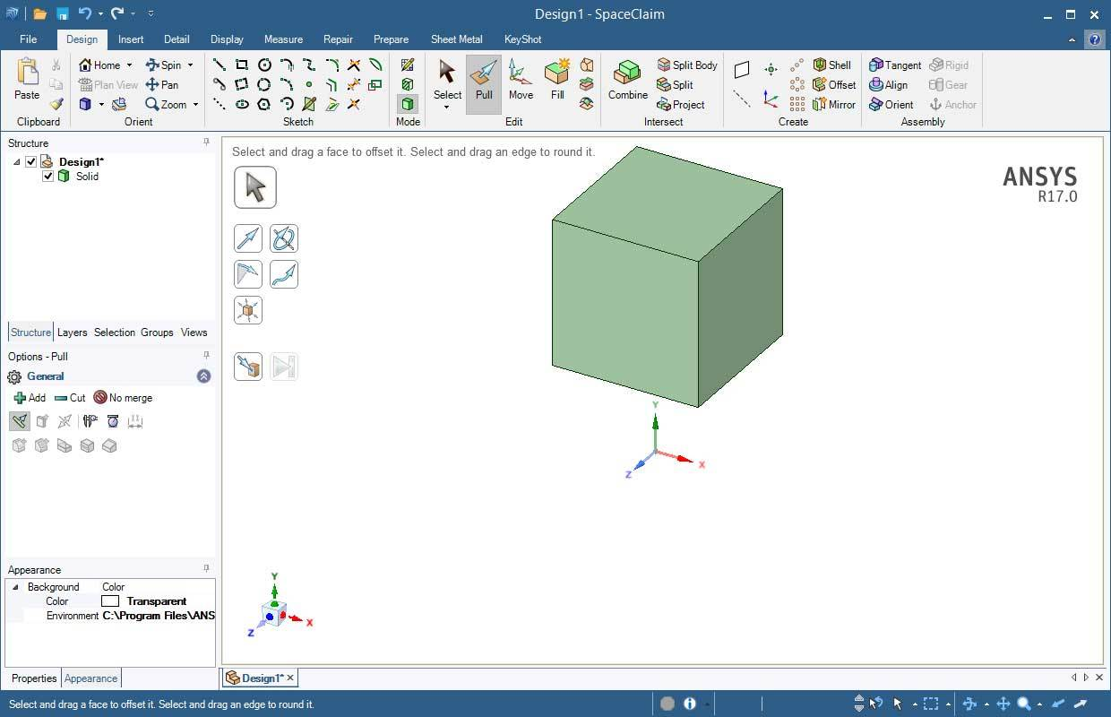 Download Ansys Spaceclaim 2018 V19 X64 Tutorials