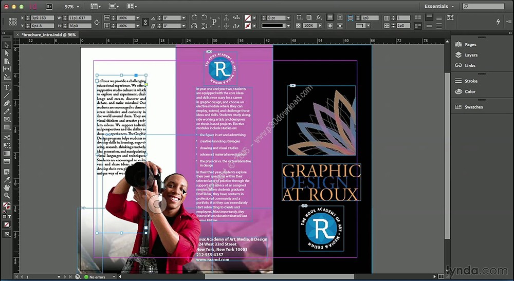 Adobe InDesign CC 2018 v13.1.0.76 Direct Link Download