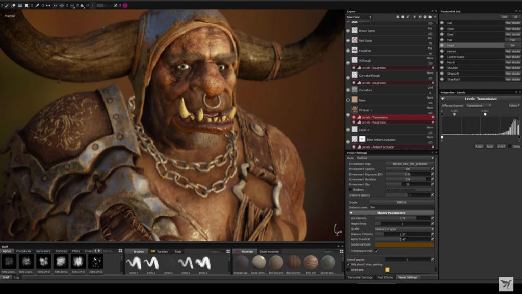 Allegorithmic Substance Painter 2018 Offline Installer Download