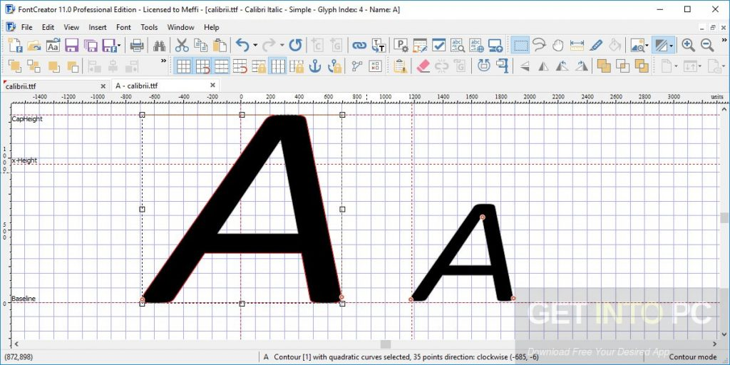FontCreator Professional 11.5.0.2421 Offline Installer Download