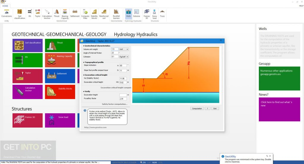 GeoStru GeoUtility 2018 Offline Installer Download