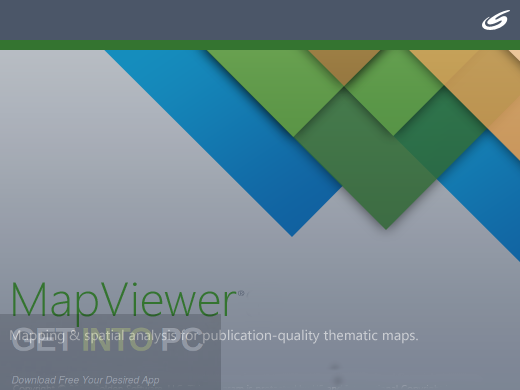Golden Software MapViewer 8.6.651 Free Download