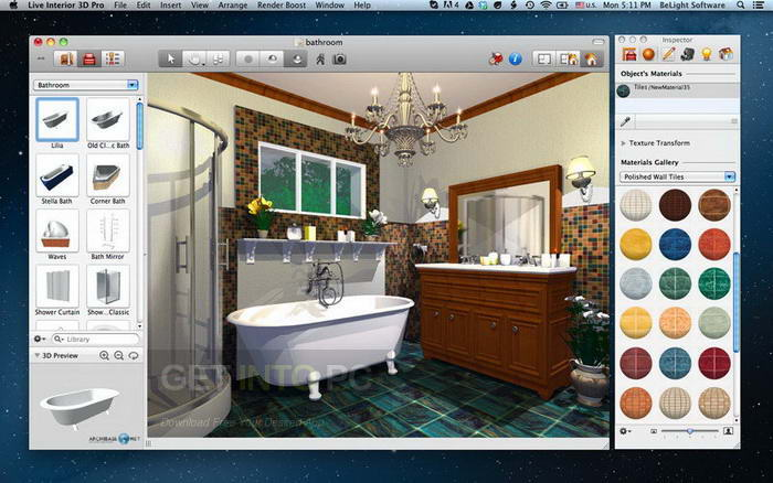 Live Home 3D (Live Interior 3D) 3.3.3 for Mac Direct Link Download