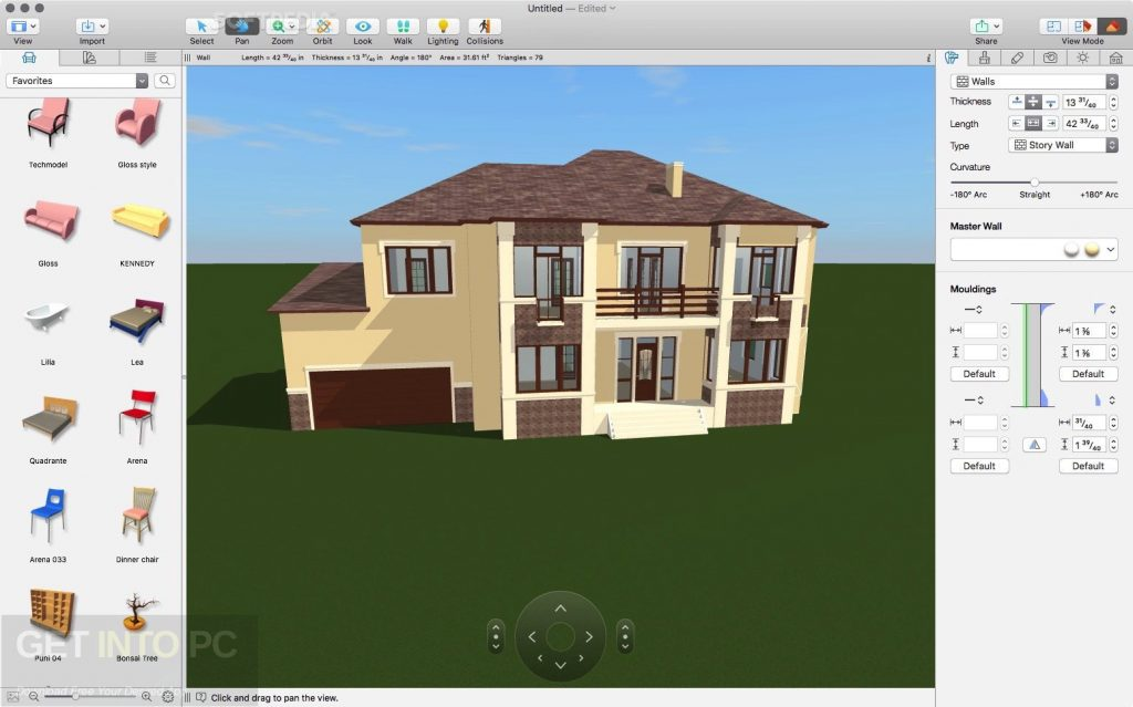 Download Live Home 3D (Live Interior 3D) 3.3.3 for Mac