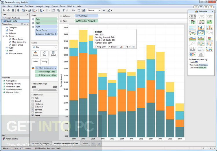 Tableau Desktop Professional 10.5.2 Direct Link Download